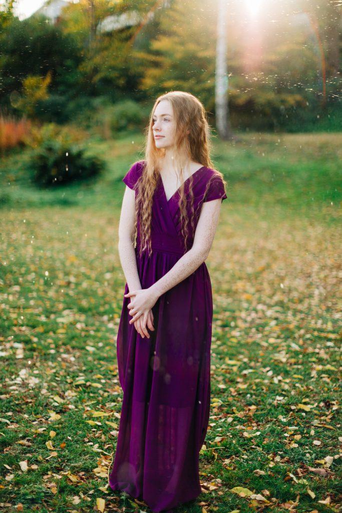 Portrett helfigur I høst.